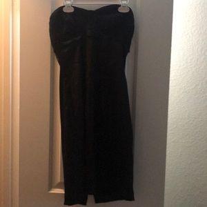 F21 strapless dress